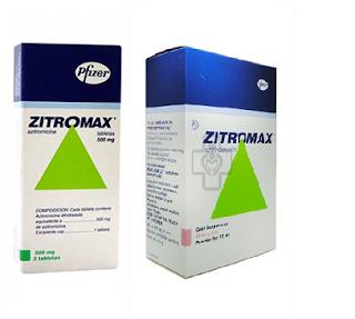 Thuốc kháng sinh Zitromax