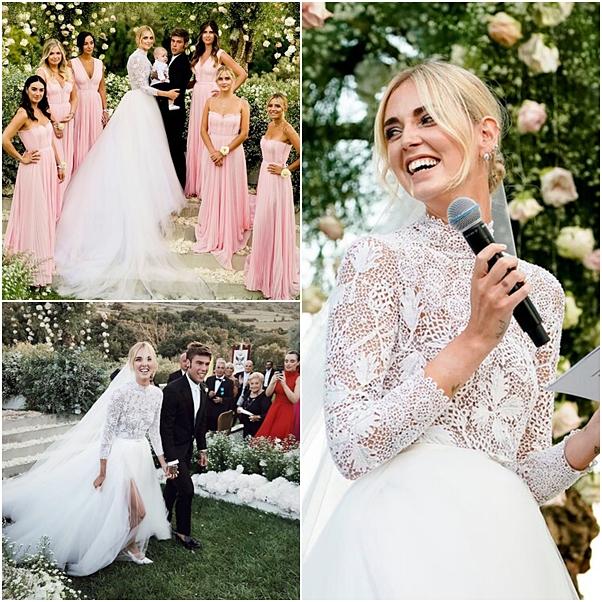 Tudo sobre o casamento de Chiara Ferragni e fedez