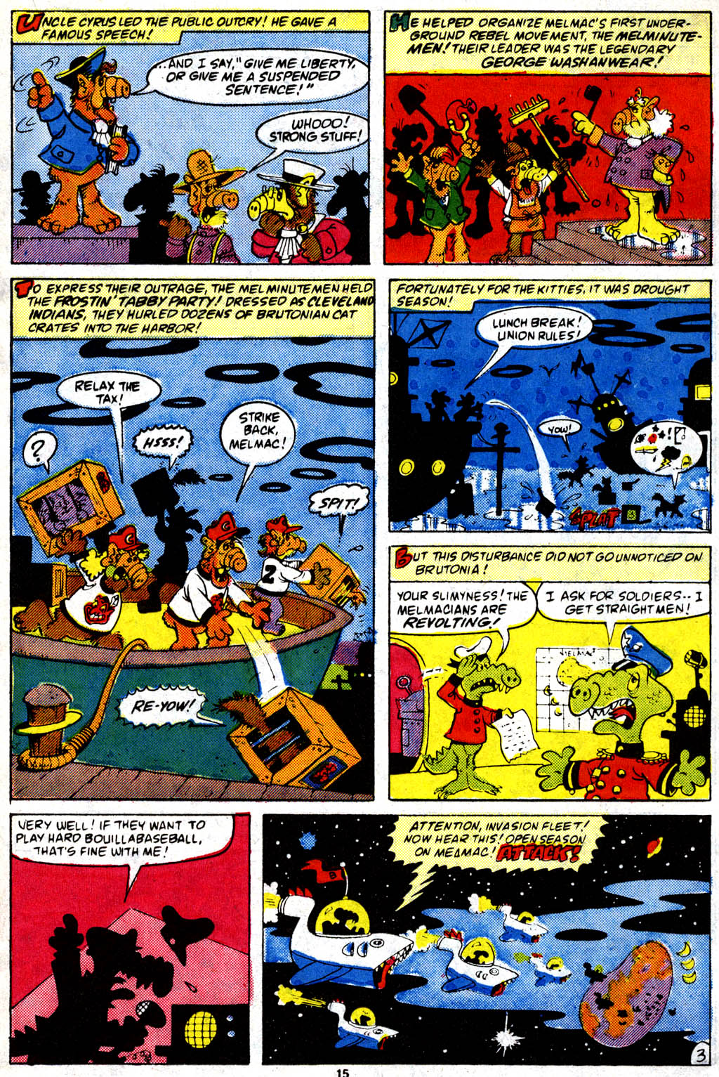 Read online ALF comic -  Issue #9 - 12