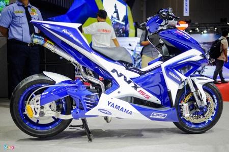 Modifikasi Yamaha Aerox jari jari