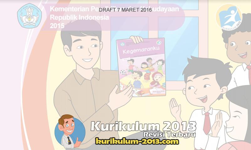 Buku Guru dan Siswa Kelas 1 Kurikulum 2013 Tematik Revisi 2016