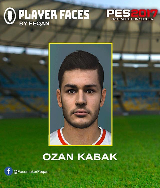 PES 2017 Ozan Kabak (VfB Stuttgart) Face by FEQAN
