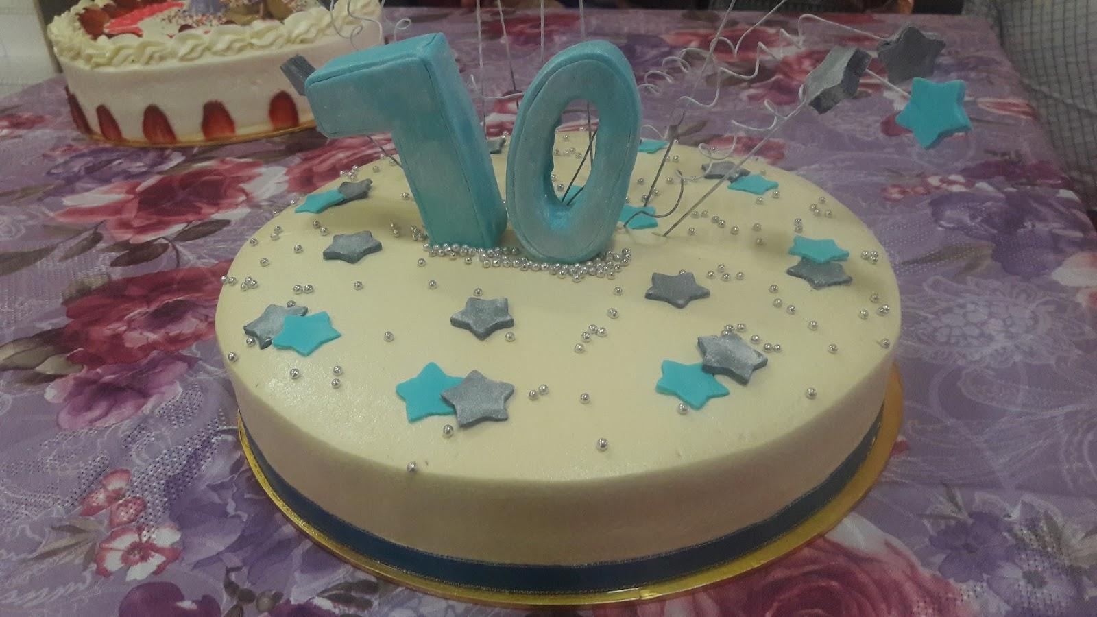 Sprinkles Cakes Cookies HAPPY 70TH BIRTHDAY