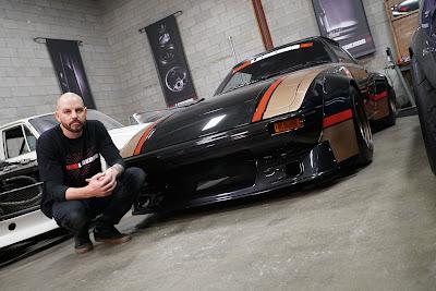 Eric Bizek comanda equipe enxuta que refaz mecânica e carroceria para clientela de nicho promissor - Divulgação
