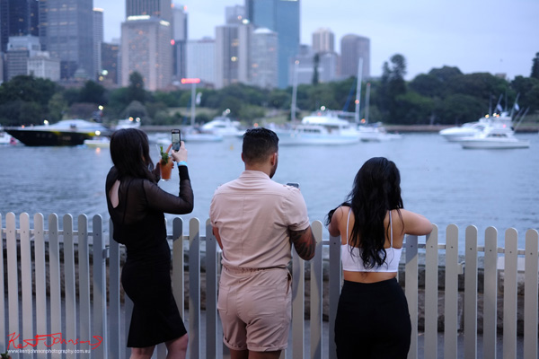 Just look at that skyline, Windsor Smith Celebrates 70 years at #HarbourLife Sydney 2016. Photographed by Kent Johnson for Street Fashion Sydney.