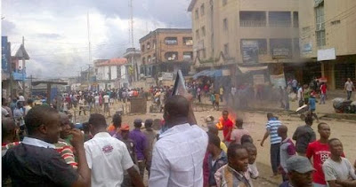 3 Feared Dead As Clash Erupt Between Igbo And Hausa Traders At Ariaria Market, Aba