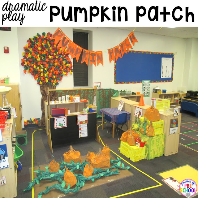 Tips & tricks to set up your dramatic play center in your preschool, pre-k, and kindergarten classroom.