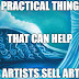 8 Practical Things that Can Help Artists Sell Art