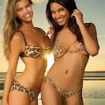 Body Paint De Nina Agdal y Ariel Meredith Para Sports Illustrated 2013. Foto 11