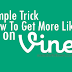Buy Vine Likes For $1 [Guaranteed Service]