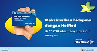 Daftar Harga Paket Internet HotRod XL Terbaru