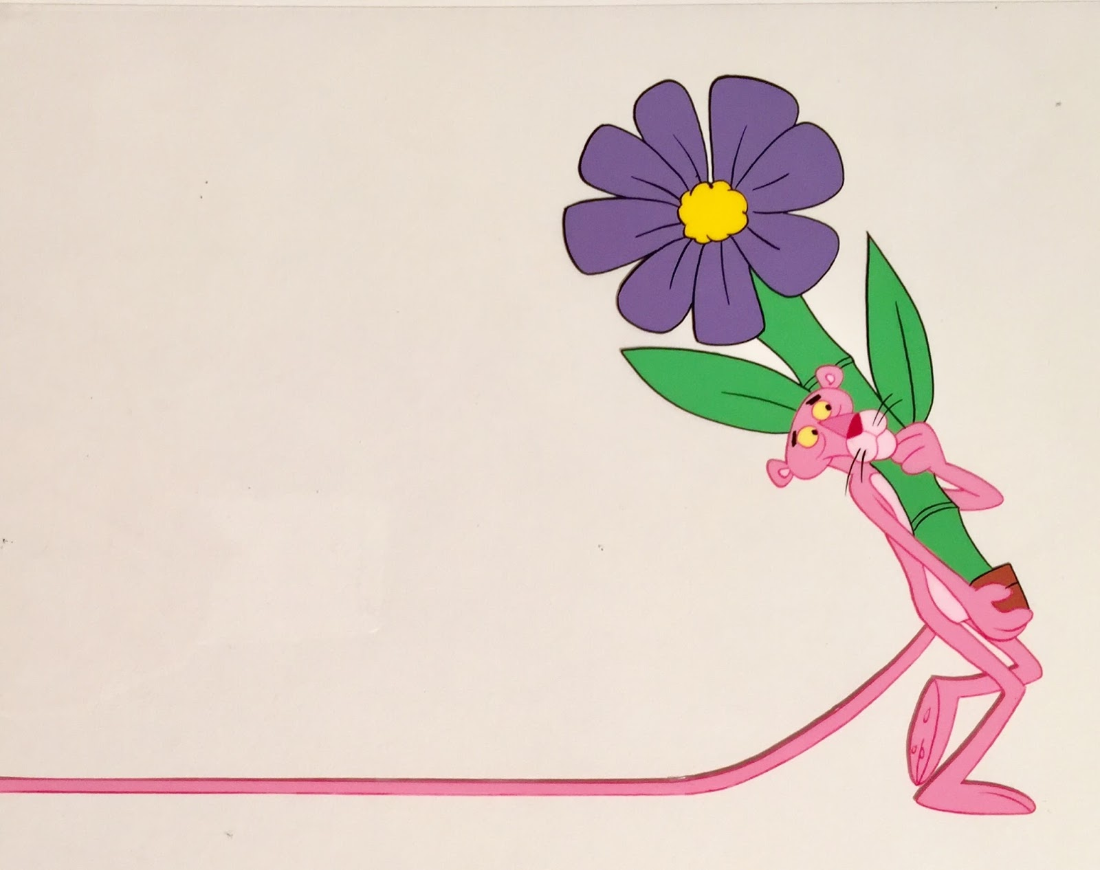 Animation collection original production animation cel of the pink in 1967 depatie freleng would receive another academy award nomination for the pink blueprint the studio created over 100 pink panther shorts for both mightylinksfo