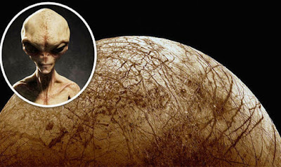 Real Aliens on Europa the Moon of Jupiter.