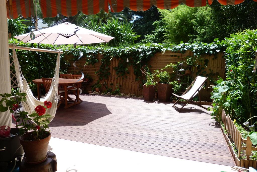f3 en rez de jardin au vauban. Black Bedroom Furniture Sets. Home Design Ideas