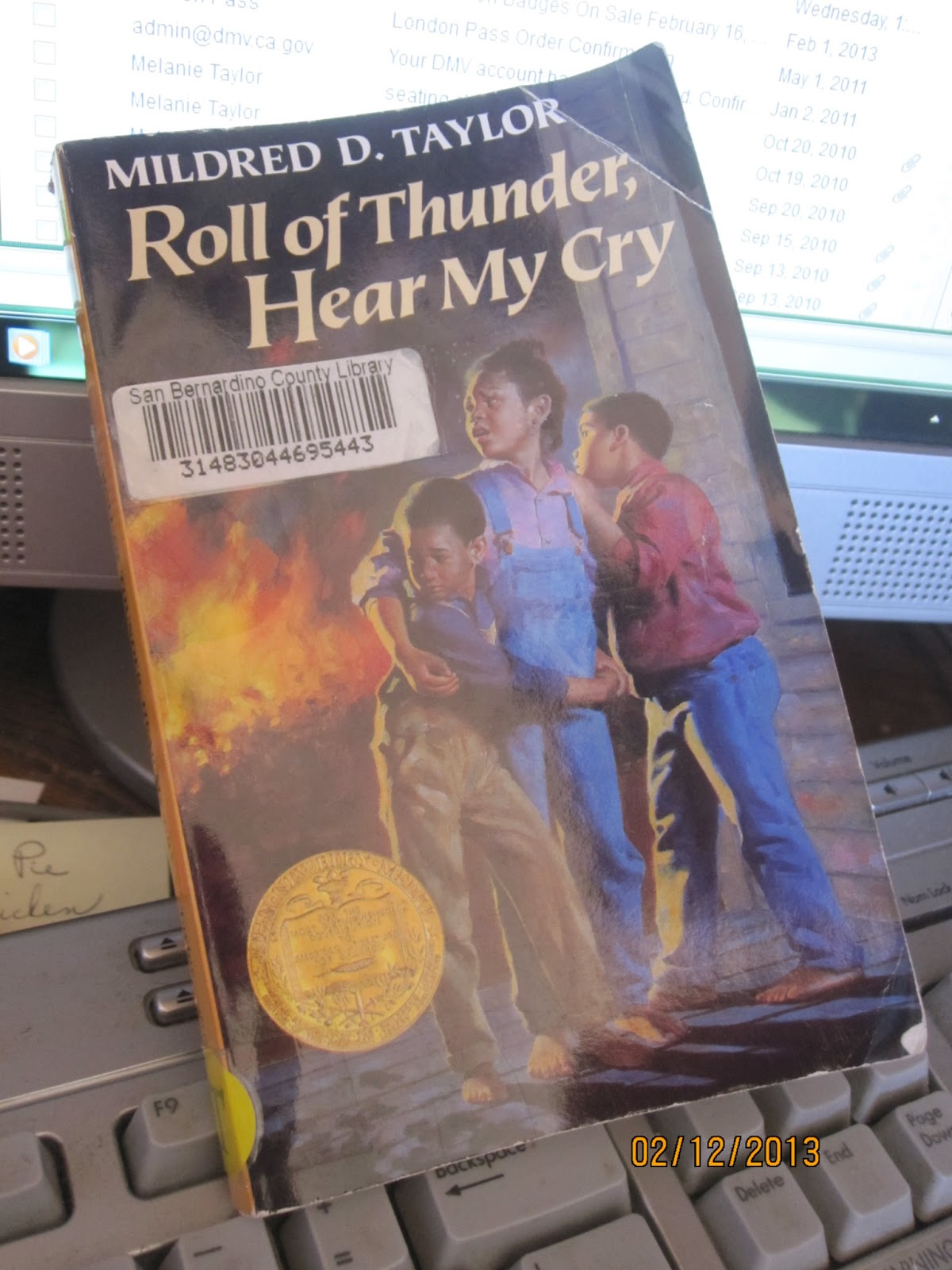 A review of mildred taylors reading roll of thunder hear my cry