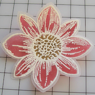 Stampin' Up! Made by Susan Merrey Independent Stampin' Up! Demonstrator, Craftyduckdoodah! Petal Potpourri, Stained Glass Technique