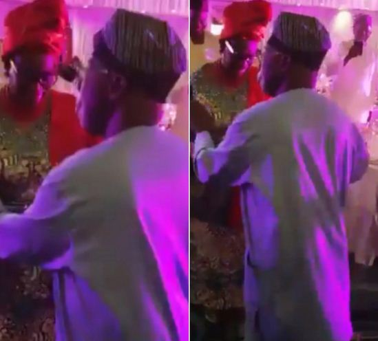 Watch Ex-President Olusegun Obasanjo Dancing With His Wife At His Ph.D Graduation Party