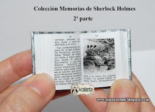 Memorias de Sherlock Holmes - Memoirs of Sherlock Holmes - Miniature Books