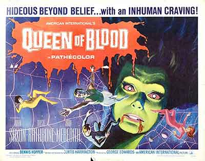 Poster de Queen of Blood / Planeta Sangriento 1966