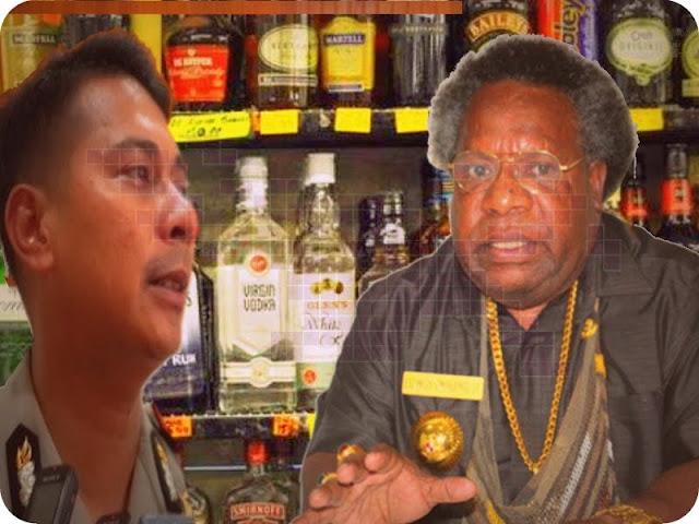 Victor Mackbon Minta Eltinus Omaleng Berlakukan Moratorium Minuman Beralkohol