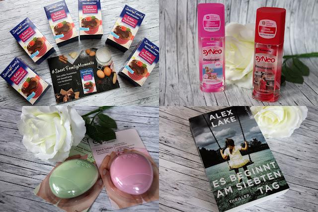 Beiträge auf Bloody testet im nächsten Jahr - Kakao-Puderzucker, syNeo Deodorant, eos Handlotion, Bücher