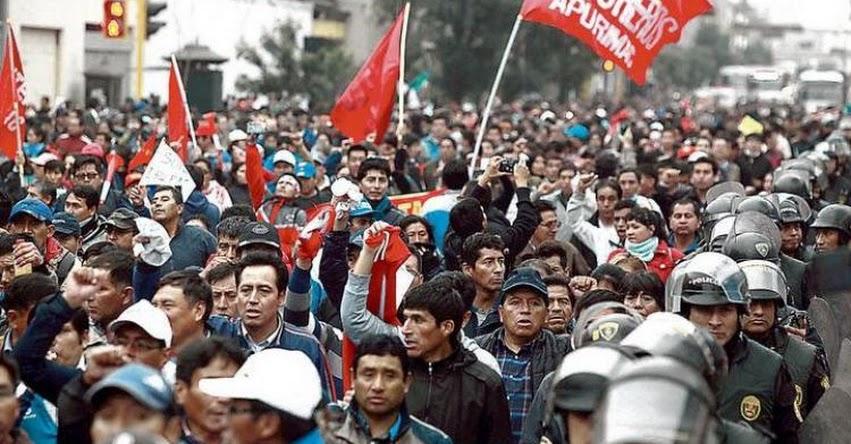SUTE-Lima anuncia que se plegarán a huelga de Pedro Castillo el Lunes 18 Junio