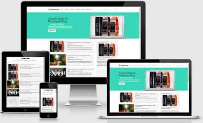 Kompi Design Blogger Template Free Download