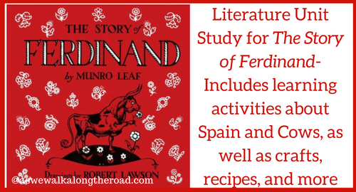 Literature unit study for The Story of Ferdinand