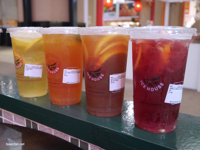 Other drinks available at Dairy Tooth - Korea Citron Tea (RM6.90), HK Style Ice Lemon Tea (RM6.90), Daisy Pear Tea (RM10.90)