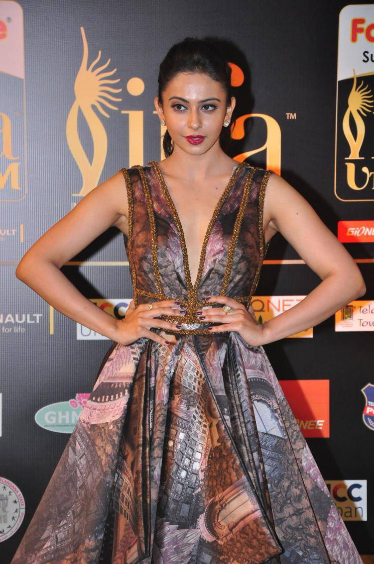 Actress Rakul Preet Singh Latest Cute Hot Spicy Photos Gallery At IIFA Awards 2016