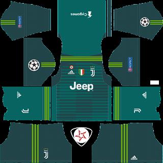 juventus 2018 2019 gk home kit