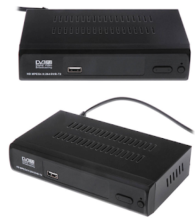 DECODER DIGITALE TERRESTRE DVB-T2 HDTV HDMI RCA
