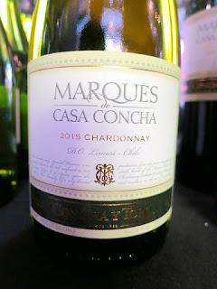 Concha y Toro Marqués de Casa Concha Chardonnay 2015 (89 pts)