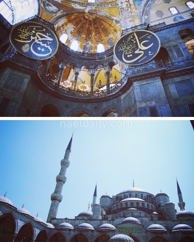 Istanbul guide- Hagia Sophia and Blue Mosque