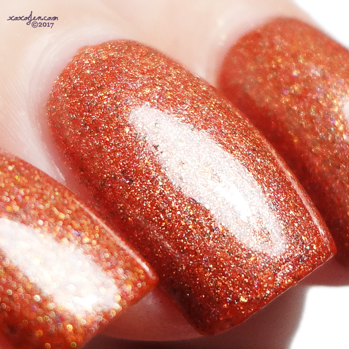 xoxoJen's swatch of Stella Chroma Autumn Serenity