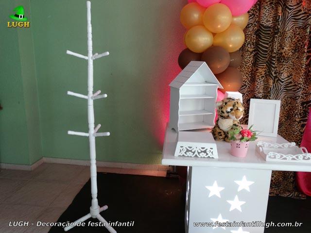 Ornamentação de festa tema da Oncinha - Aniversário infantil
