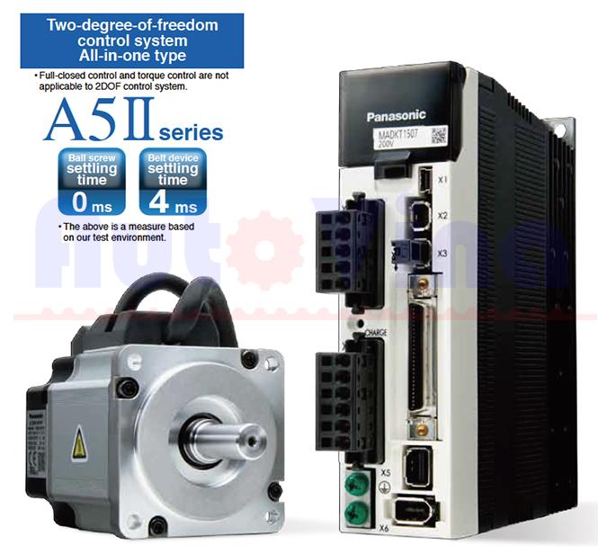 Đại lý bán Servo Panasonic Minas A5II Series