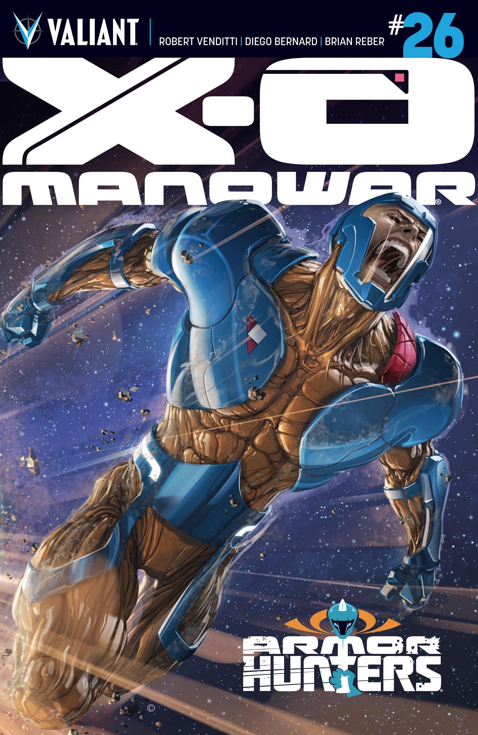 X-O Manowar (2012) 26 Page 1