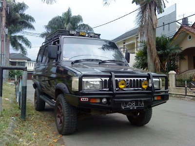 kijang super modifikasi off road