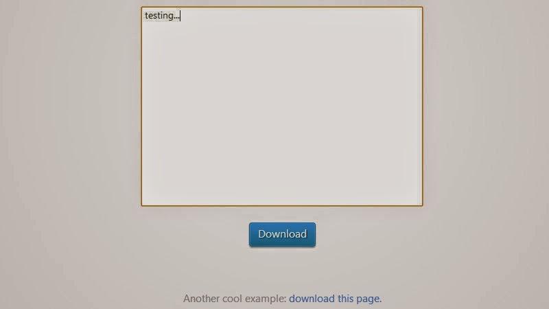 Generate File Downloads
