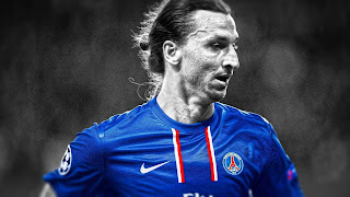 Manchester United striker Zlatan Ibrahimovich best footballers world