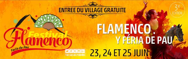 Festival Feria y Flamenco de Pau 2017