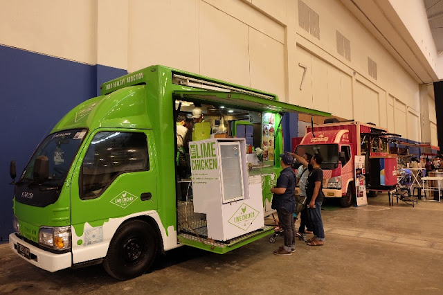 lime chicken food truck