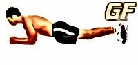 Cara mengecilkan perut buncit dengan elbow plank
