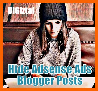 how to block Adsense ads from single Blogger post