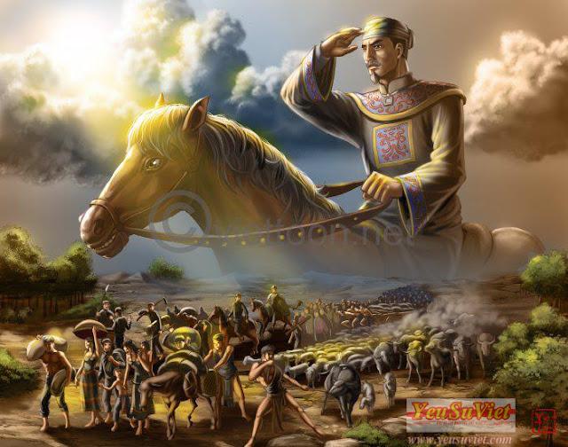 nội chiến việt nam, trịnh nguyễn phân tranh, nguyễn hoàng, chúa nguyễn, chúa trịnh, lịch sử việt nam, yêu sử việt