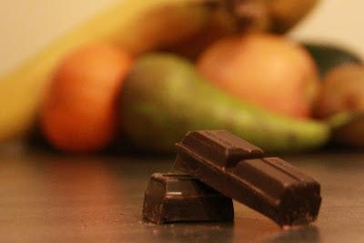 fruit versus chocolade