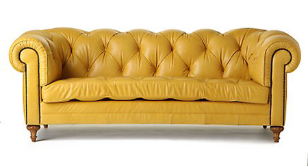 image of a yellow couch