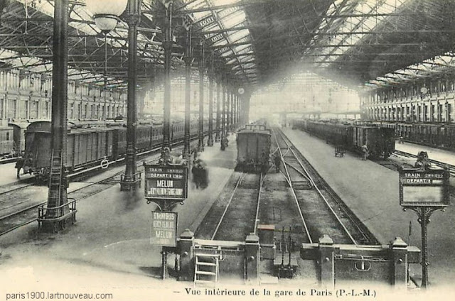 15 Vintage Photographs Of Paris Gare De Lyon From The