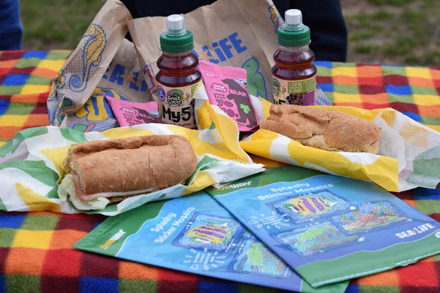 Subway Kids Pak with free SEALIFE gift #kidseatfree